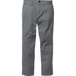 Spodnie chino Regular Fit bonprix dymny szary. Szare chinosy męskie bonprix. Za 74,99 zł.