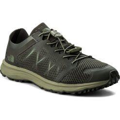 Buty THE NORTH FACE - Litewave Flow Lace T92YA94DU Black Ink Green/Four Leaf Clover. Zielone buty do biegania męskie marki The North Face, z materiału. W wyprzedaży za 259,00 zł.