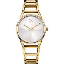 ZEGAREK CALVIN KLEIN STATELY K3G23526. Szare zegarki damskie marki Calvin Klein, szklane. Za 1389,00 zł.