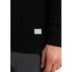 Swetry klasyczne męskie: Lindbergh Sweter black