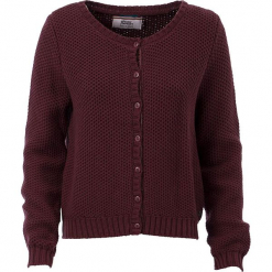 """Kardigan """"Faint Mystery"""" w kolorze czerwonobrązowym. Brązowe kardigany damskie marki 4funkyflavours Women & Men, l, z bawełny. W wyprzedaży za 181,95 zł."""
