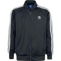 Adidas SST TT Bluza dresowa czarny/biały. Białe bluzy dresowe męskie Adidas, l, w paski. Za 284,90 zł.