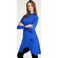 Bluzki asymetryczne: Bluzka - tunika - 30-88047 ROYA