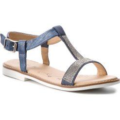 Sandały dziewczęce: Sandały NELLI BLU – CS1086-8 Granatowy