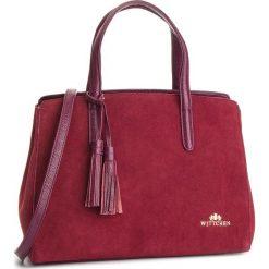 Torebka WITTCHEN - 87-4E-217-2  Bordowy. Czerwone torebki klasyczne damskie Wittchen, ze skóry. W wyprzedaży za 529,00 zł.