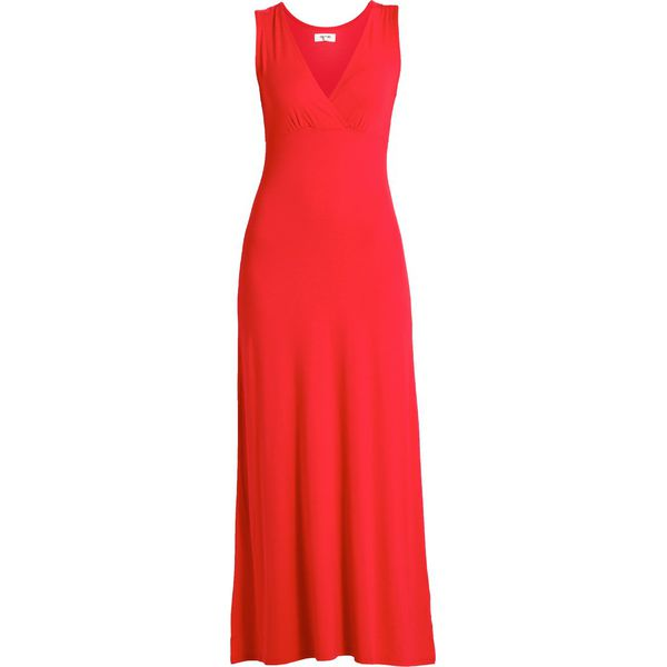ef847fd006 Zalando Essentials Długa sukienka barbados cherry - Czerwone ...