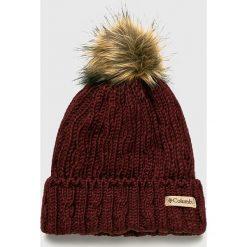 Columbia - Czapka. Brązowe czapki zimowe męskie Columbia, z dzianiny. W wyprzedaży za 129,90 zł.