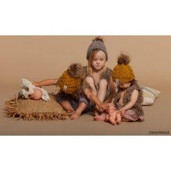 Czapka Robin Baby. Brązowe czapeczki niemowlęce Pakamera, z wełny. Za 119,00 zł.