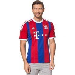 Koszulka piłkarska w kolorze czerwono-niebieskim. Czerwone koszulki sportowe męskie Nike & adidas, m, z materiału, do piłki nożnej, climacool (adidas). W wyprzedaży za 208,95 zł.