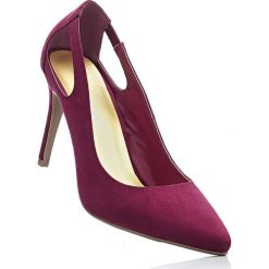 Czółenka bonprix czerwony klonowy. Czerwone buty ślubne damskie bonprix. Za 89,99 zł.