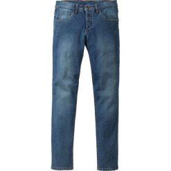 """Dżinsy ze stretchem Skinny Fit  Straight bonprix Niebieski """"stone"""" Used. Niebieskie jeansy męskie relaxed fit bonprix, z jeansu. Za 109,99 zł."""