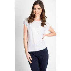 Bluzki damskie: Szara bluzka z błyskiem QUIOSQUE