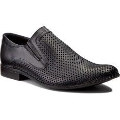 Półbuty LASOCKI FOR MEN - A-5233P2 Granatowy. Niebieskie buty wizytowe męskie Lasocki For Men, ze skóry. Za 229,99 zł.