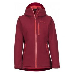 Marmot Damska Kurtka Nieprzemakalna Wm's Solaris Jacket Brick Xs. Czerwone kurtki damskie softshell Marmot, l, z gore-texu, wspinaczkowe, gore-tex. Za 1099,00 zł.