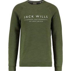 Bejsbolówki męskie: Jack Wills BLACKWELL Bluza olive