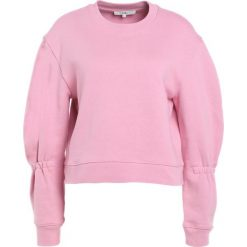 Tibi SCULPTED Bluza calla pink. Czerwone bluzy rozpinane damskie Tibi, m, z bawełny. W wyprzedaży za 404,70 zł.
