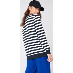 Bluzy damskie: Calvin Klein Bluza w paski True Icon - Multicolor