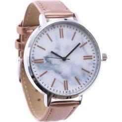 Ciemnobeżowy Zegarek Constantly. Brązowe zegarki damskie Born2be. Za 24,99 zł.