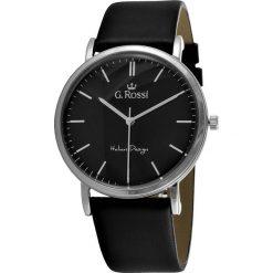 Zegarki męskie: Zegarek Gino Rossi męski Dorian czarny (10768D-1A1)