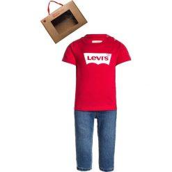 Rurki dziewczęce: Levi's® TEE PANT BABY SET Jeansy Slim Fit red