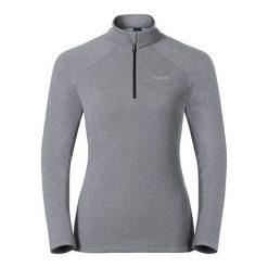 Odlo Bluza damska Midlayer 1/2 zip Snowbird szara r. S (222001). Szare bluzy sportowe damskie marki Odlo, s. Za 180,04 zł.