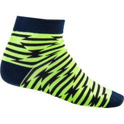 SKARPETY MĘSKIE WE WZORY U13 - ZIELONE. Zielone skarpetki męskie marki Ombre Clothing, w jednolite wzory. Za 7,99 zł.