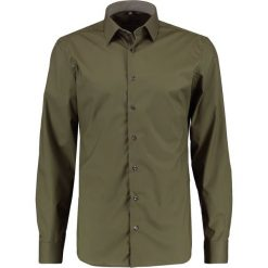 Koszule męskie na spinki: Eterna KENT SLIM FIT Koszula oliv