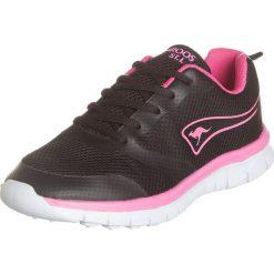 """Buty sportowe damskie: Buty sportowe """"K-March"""" w kolorze czarno-różowym"""