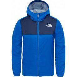 The North Face Kurtka Chłopięca B Zipline Rain Jacket Turkish Sea M. Niebieskie kurtki chłopięce przeciwdeszczowe marki bonprix, sportowe, z kapturem. Za 259,00 zł.