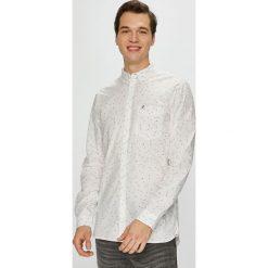 Tommy Jeans - Koszula. Szare koszule męskie jeansowe Tommy Jeans, l, button down, z długim rękawem. Za 299,90 zł.