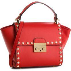 Torebka CREOLE - K10510  Czerwony. Czerwone torebki klasyczne damskie Creole, ze skóry. W wyprzedaży za 219,00 zł.
