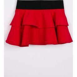Trendyol - Spódnica dziecięca 98-128 cm. Różowe minispódniczki marki Mayoral, z bawełny, z okrągłym kołnierzem. W wyprzedaży za 39,90 zł.