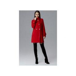 Płaszcz M623 Czerwony. Czerwone płaszcze damskie FIGL, m, eleganckie. Za 299,00 zł.