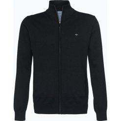 Fynch Hatton - Kardigan męski, czarny. Czarne swetry rozpinane męskie Fynch-Hatton, l, z bawełny. Za 299,95 zł.