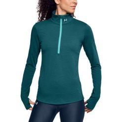 Bluzy sportowe damskie: Under Armour Bluza damska Threadborne Streaker 1/2 Zip zielona r. M (1271525-716)