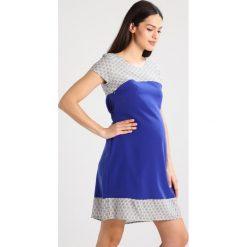 Pomkin BETTINA Sukienka letnia indigo. Niebieskie sukienki letnie marki Pomkin, xs, z materiału. W wyprzedaży za 345,95 zł.