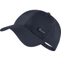 Czapki z daszkiem męskie: Nike Czapka unisex H86 Cap Metal Swoosh granatowa