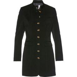 Długi żakiet bonprix czarny. Brązowe marynarki i żakiety damskie marki bonprix. Za 149,99 zł.