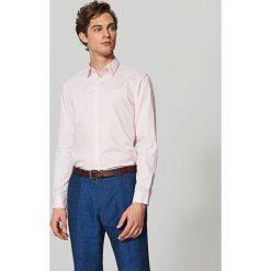Elegancka koszula z tkaniny poplin - Różowy. Czerwone koszule męskie marki Reserved, m, z tkaniny. Za 79,99 zł.