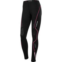 Spodnie damskie: VIKING Legginsy Ingrid long czarno-różowe r. L (9501813)