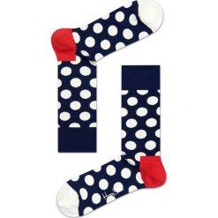 Happy Socks - Skarpetki Big Dot. Szare skarpetki damskie Happy Socks. Za 39,90 zł.