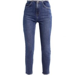 Boyfriendy damskie: NORR KAJA Jeansy Slim Fit blue denim