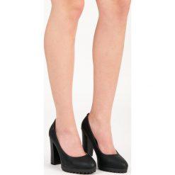Buty ślubne damskie: Czółenka na platformie GIA
