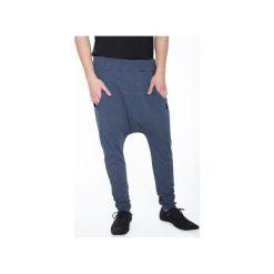 SPODNIE Z OBNIŻONYM KROKIEM |NIEBIESKIE|. Niebieskie spodnie dresowe męskie MALE-ME, z bawełny. Za 229,00 zł.