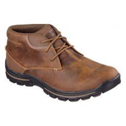 Buty trekkingowe męskie: Skechers Buty męskie Braver brązowe r. 41.5  (64864-CDB)