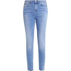 Edwin Jeans Skinny Fit blue light slate. Niebieskie rurki damskie Edwin. W wyprzedaży za 367,20 zł.