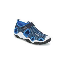 Sandały sportowe Dziecko  Geox  J WADER C. Szare buty sportowe chłopięce marki Blukids, z gumy. Za 231,20 zł.