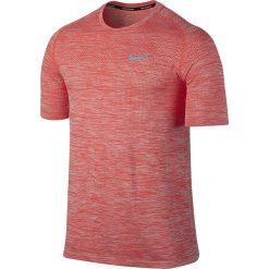 T-shirty męskie: koszulka do biegania męska NIKE DRI-FIT KNIT TOP SHORT SLEEVE / 833562-852 – NIKE DRI-FIT KNIT TOP SHORT SLEEVE
