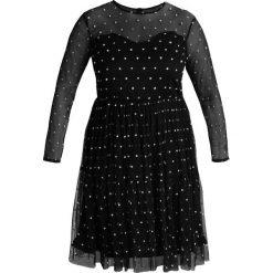 Sukienki hiszpanki: Lace & Beads Curvy LOLITA SHORT DRESS Sukienka koktajlowa black