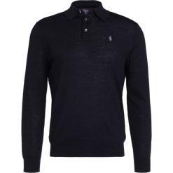 Polo Ralph Lauren Sweter polo black. Czarne swetry klasyczne męskie marki Polo Ralph Lauren, m, z materiału, polo. W wyprzedaży za 408,85 zł.